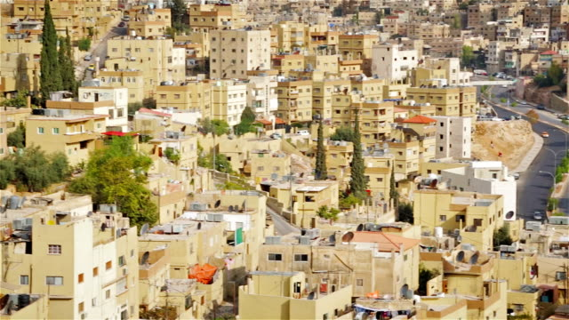 Urban scene of Amman - Jordan