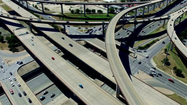 Urban Sprawl Highways Intersections Overpass and Major Transportation Crossroads Austin Texas Mega Roads