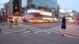 Urban Time Lapse  4k