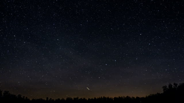 ursa major constellation travel across the sky - star trail stock videos & royalty-free footage