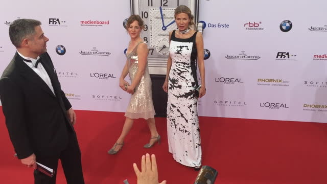 Ursula Karven at the Lola German Film Award at Messe Berlin on May 27 2016 in Berlin Germany