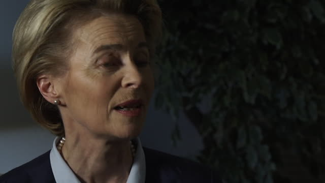 ursula von der leyen saying brexit doesn't solve any of the global challenges i think it's better to work together - solutions stock videos & royalty-free footage