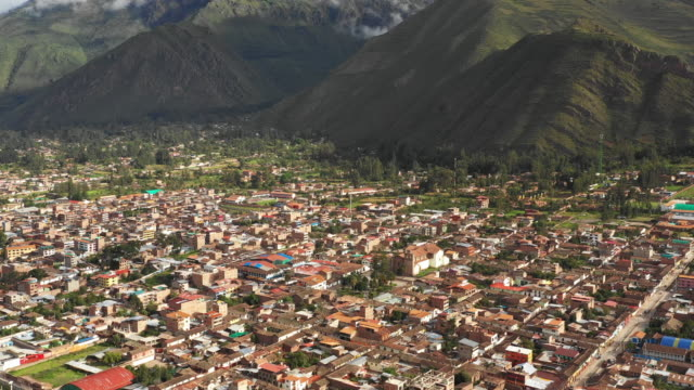 urubamba town / cusco, peru - landscaped stock videos & royalty-free footage