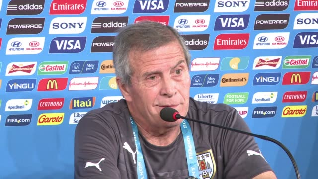 Uruguay boss Oscar Tabarez says he wont rush Luis Suarez back from a knee injury for his sides World Cup opener against Costa Rica in Fortaleza on...