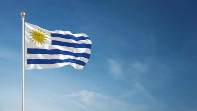 4 K Uruguay bandiera-ad anello