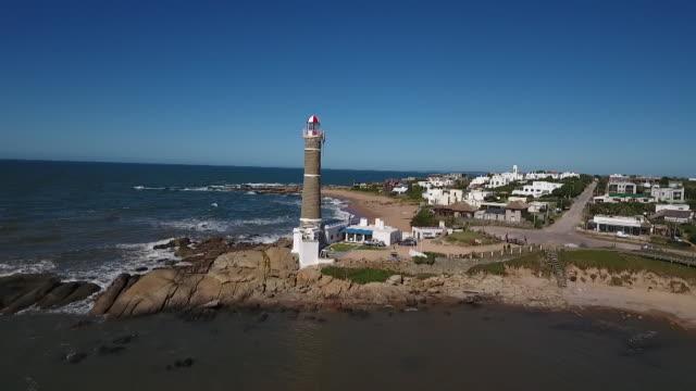 vídeos de stock, filmes e b-roll de uruguay village de josé ignacio - américa do sul