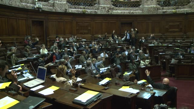 uruguays lower house started wednesday the debate on a controversial bill which for the first time would put a government in charge of production and... - uruguay stock videos & royalty-free footage