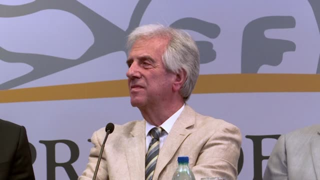 uruguay's president tabare vazquez doctor has confirmed that he has malignant lung nodule - lymphatic system stock videos & royalty-free footage