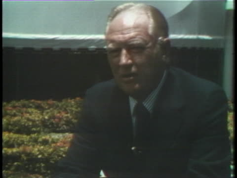 us secretary of state william rogers rejects sargent shriver's allegations that president johnson missed a chance for a negotiated settlement with... - missed chance stock videos & royalty-free footage