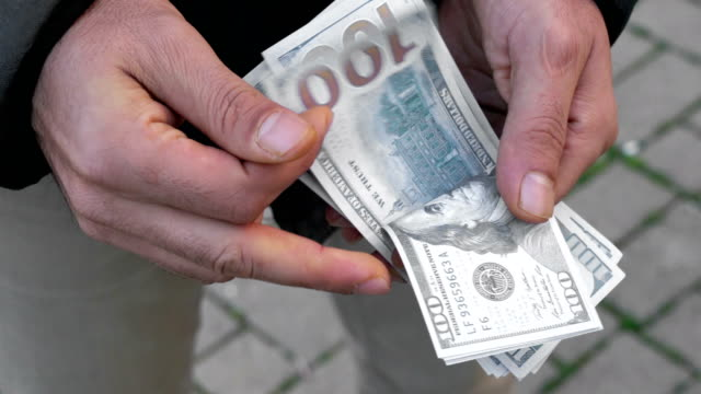 Usa dollars in hands