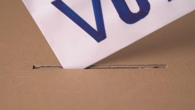 usa.election - ballot box stock videos & royalty-free footage