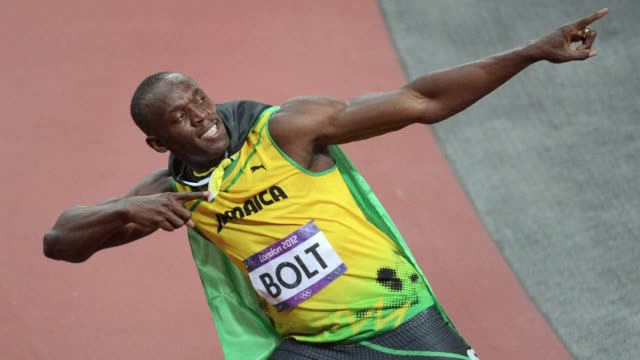 usain bolt lit up the olympics on sunday running the second fastest 100m time in history to round off a dramatic first week of sporting action which... - 2012 stock videos & royalty-free footage