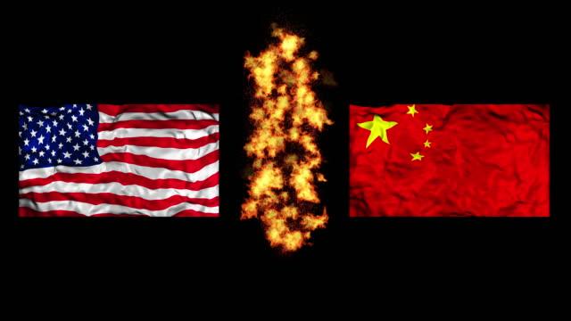 u.s.-china trade war - trade war stock videos & royalty-free footage