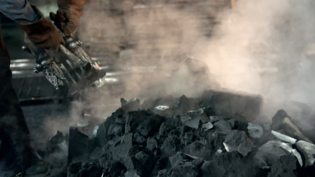 use of sand to produce cast iron - metal industry stock videos & royalty-free footage