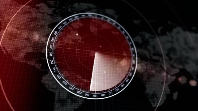 4k user interface, radar, security system, hud - radar stock videos & royalty-free footage