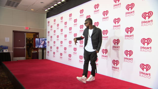 usher at 2014 iheartradio music festival and village - day 1 at mgm grand on september 19, 2014 in las vegas, nevada. - usher stock videos & royalty-free footage
