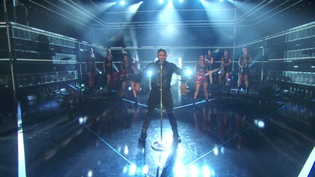 usher at fashion rocks 2014 at barclays center on september 09, 2014 in new york city. - usher stock videos & royalty-free footage