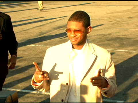 usher at the 2004 teen choice awards arrivals at the universal amphitheatre in universal city, california on august 8, 2004. - usher stock videos & royalty-free footage