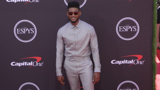 usher at the 2019 espys at microsoft theater on july 10, 2019 in los angeles, california. - usher stock videos & royalty-free footage