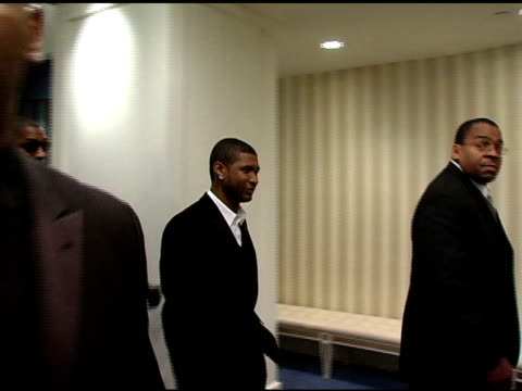 usher at the 22nd annual martin luther king ambassadorial reception dinner celebrated by congress of racial equality at the new york sheraton hotel... - usher stock videos & royalty-free footage
