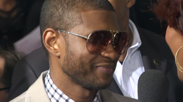 usher at the 52nd annual grammy awards - arrivals part 2 at los angeles ca. - usher stock videos & royalty-free footage