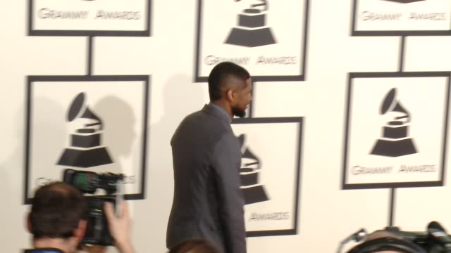 usher at the 57th annual grammy awards - red carpet at staples center on february 08, 2015 in los angeles, california. - usher stock videos & royalty-free footage