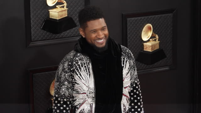 usher at the 62nd annual grammy awards - arrivals at staples center on january 26, 2020 in los angeles, california. - usher stock videos & royalty-free footage