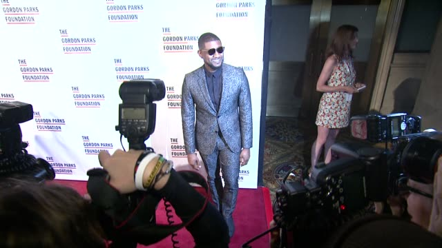 usher at the gordon parks foundation awards dinner and auction at cipriani, wall street on june 02, 2015 in new york city. - usher stock videos & royalty-free footage