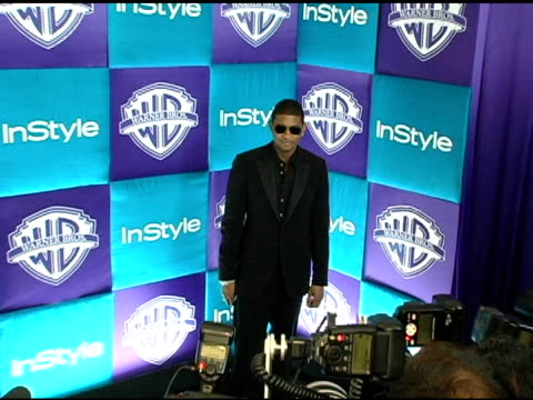 usher at the in style magazine and warner brothers studios 6th annual golden globe party at the beverly hilton in beverly hills, california on... - usher stock videos & royalty-free footage