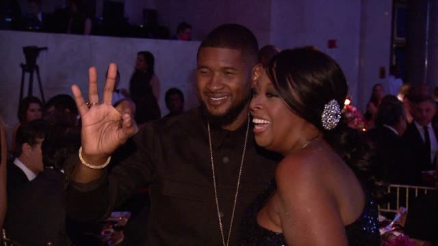 usher, star jones at gabrielle's angel foundation hosts angel ball 2015 at cipriani, wall street on october 19, 2015 in new york city. - star jones stock videos & royalty-free footage