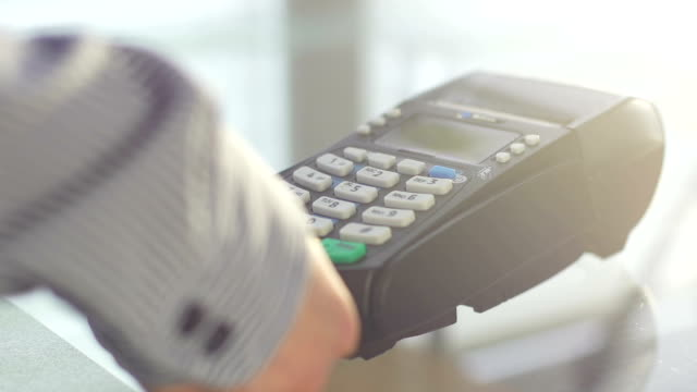 Using a credit card reader