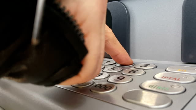 using atm machine - turkey middle east stock videos & royalty-free footage