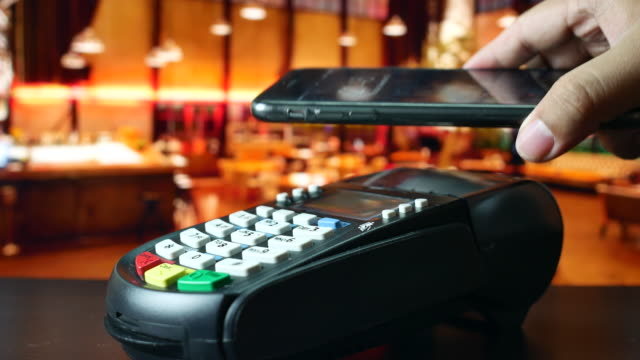 using contactless payment with phone, NFC Payment