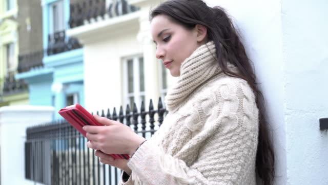 Nutzung digitalen tablet.