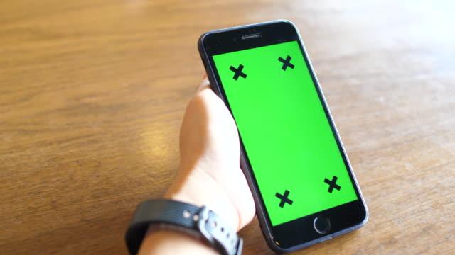 Mit Telefon Green Screen