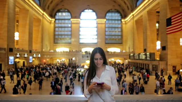 Using phone on Grand Central