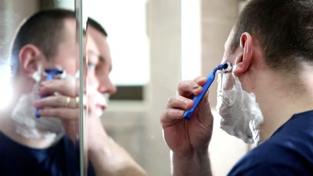 Using razor for shaving