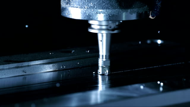 ローターリカッターを削除する資料(スーパースローモーション) - 工業技術点の映像素材/bロール