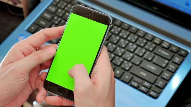 Using smart phone,Close-up