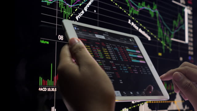 Using Tablet for analysis stock
