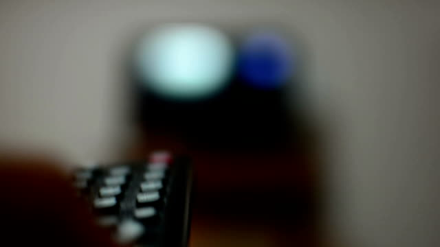 using tv remote control - cable tv stock videos and b-roll footage