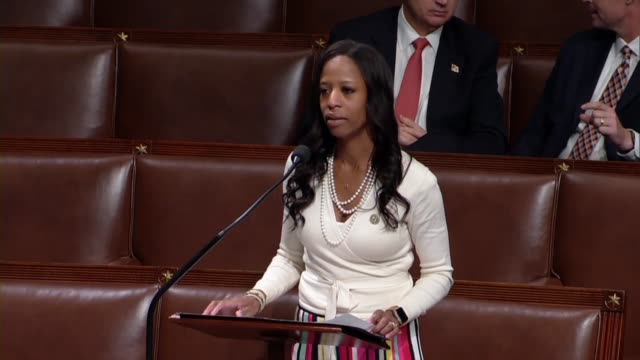 Utah Congresswoman Mia Love says in debate on immigration reform bill negotiated by moderates that the separation of families was heartbreaking to...