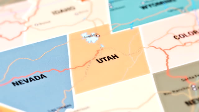 utah from usa states - utah stock videos & royalty-free footage