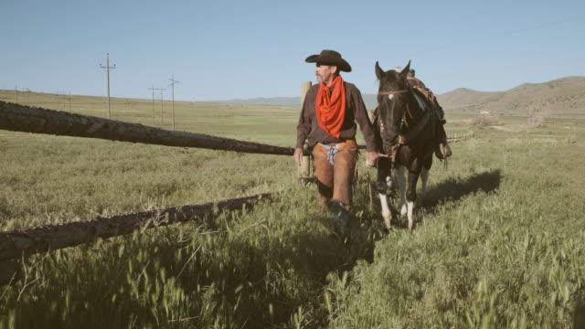Caballo y ranchero de Utah