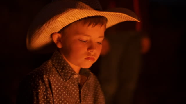 utah rancher family by the bonfire - rancher stock videos and b-roll footage