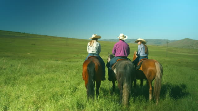 utah ranchers on horses - rancher stock videos & royalty-free footage