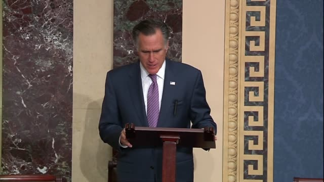 utah senator mitt romney says in a speech criticizing us military withdrawal from syria followed by an invasion by turkey that assuming that getting... - pulling stock videos & royalty-free footage