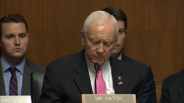 Utah Senator Orrin Hatch asks FBI Director James Comey about allowing civic organizations like the YMCA to conduct fingerprinting of employees in the...