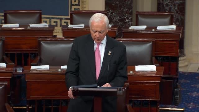 Utah Senator Orrin Hatch calls Senator Bob Bennett a statesman adored colleague and dear friend with whom he represented the state of Utah calling...