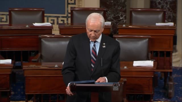utah senator orrin hatch says allegations that attorney general jeff sessions sat on his hands as congress eviscerated enforcement authority of the... - oblivious stock videos & royalty-free footage